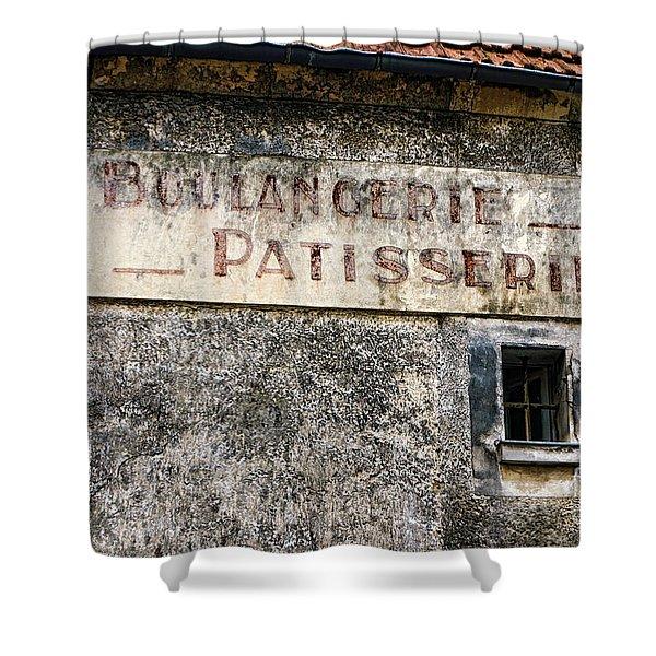 Boulangerie Patisserie Shower Curtain