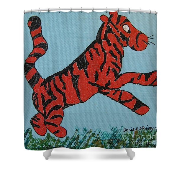 Bounce Shower Curtain