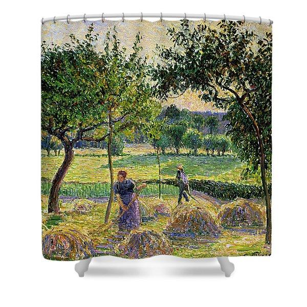 Bountiful Harvest, 1893 Shower Curtain