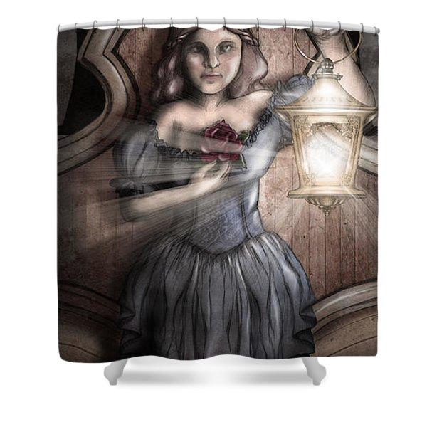 Bow Maiden Shower Curtain