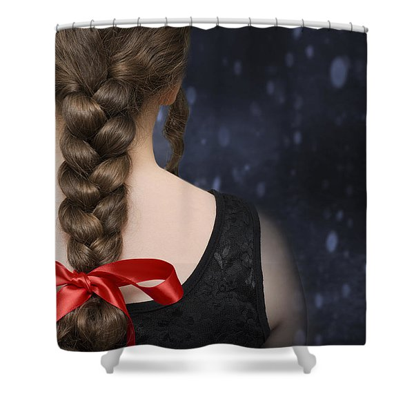 Braided Hair Shower Curtain