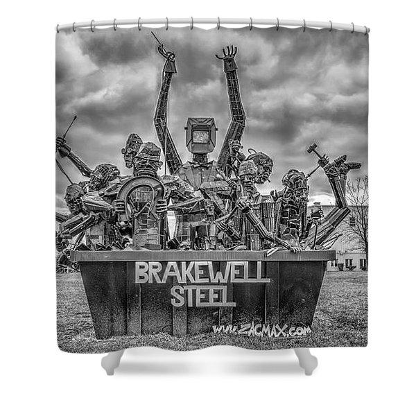 Brakewell Steel Shower Curtain