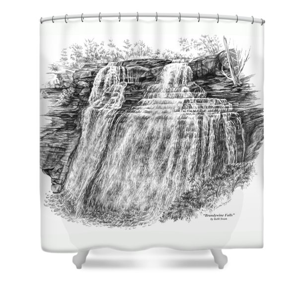 Brandywine Falls - Cuyahoga Valley National Park Shower Curtain