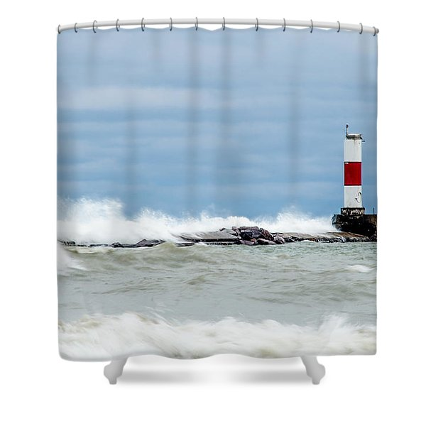 Breaking Shower Curtain