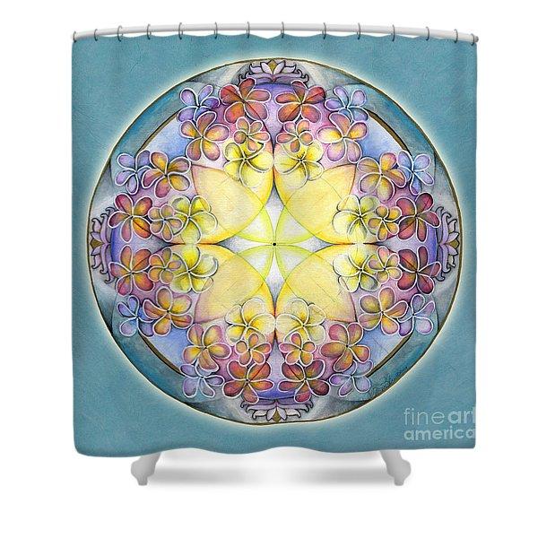 Breath Of Life Mandala Shower Curtain