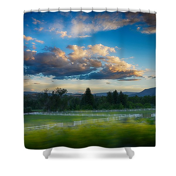 Breathtaking Colorado Sunset 1 Shower Curtain