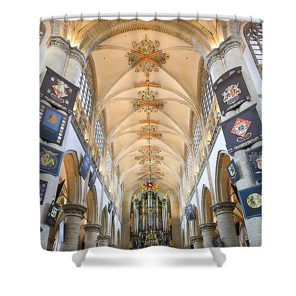 Breda Cathedral Shower Curtain