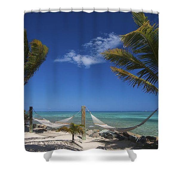 Breezy Island Life Shower Curtain