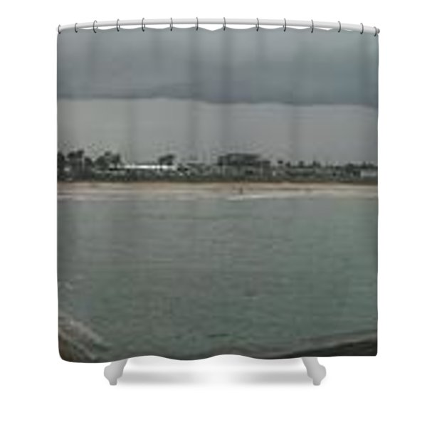 Brewing A Storm Shower Curtain