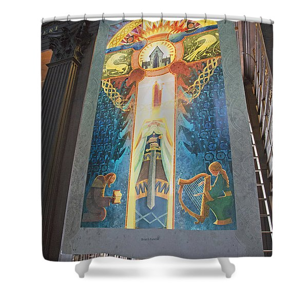 Brian's Funeral Shower Curtain