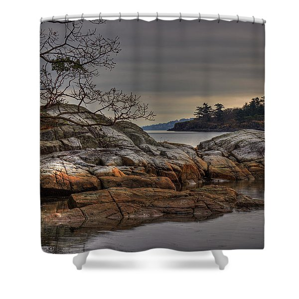 Shower Curtain featuring the photograph Tranquil Waters by Randy Hall