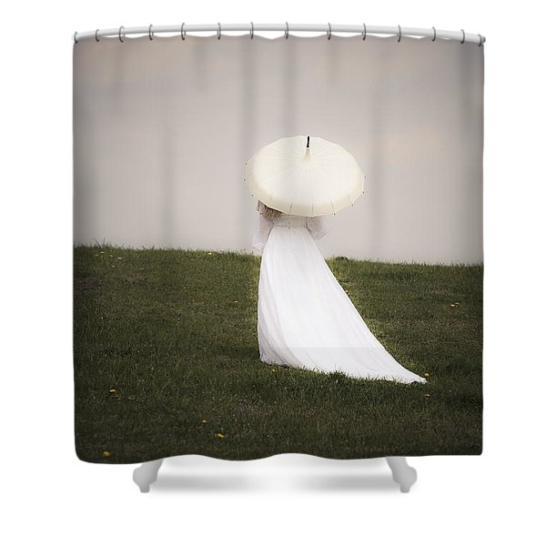 Bride Shower Curtain
