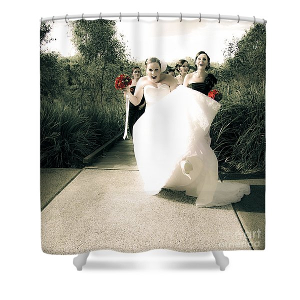 Brides Delight Shower Curtain