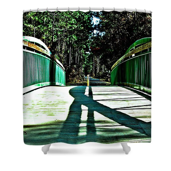 Bridge Of Shadows Shower Curtain
