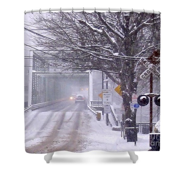 Bridge Street To New Hope Shower Curtain