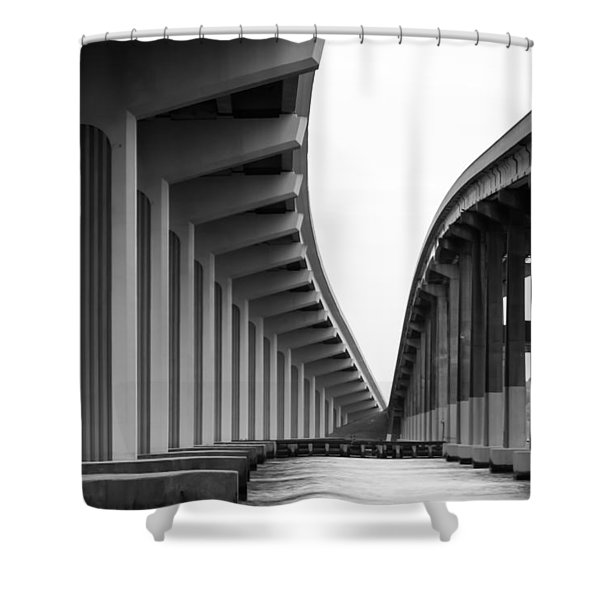 Bridge To Nowhere Shower Curtain