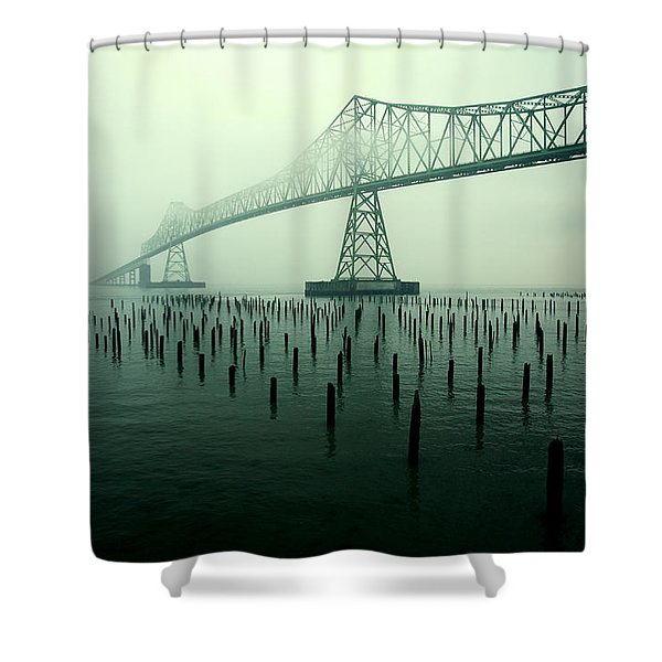 Bridge To Nowhere Shower Curtain