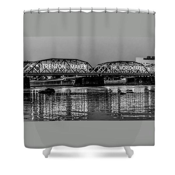 Trenton Makes Bridge Shower Curtain