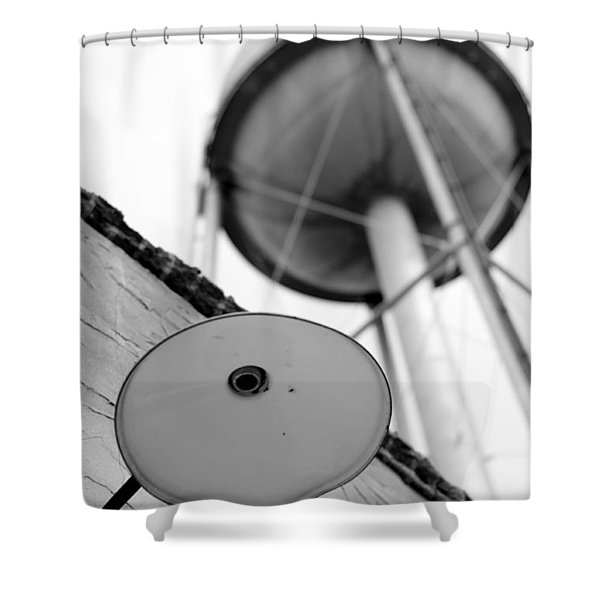 Bright Idea Shower Curtain