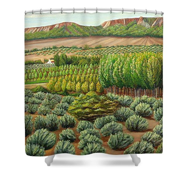 Bright Morning In Alcudia Shower Curtain