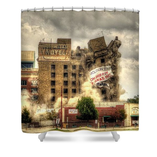 Bringing Down The House Shower Curtain