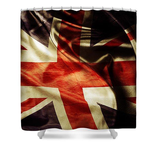 British Flag 1 Shower Curtain
