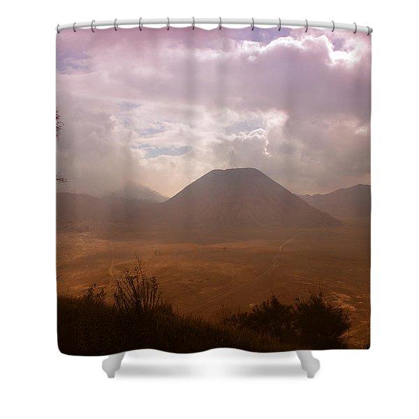 Bromo Shower Curtain