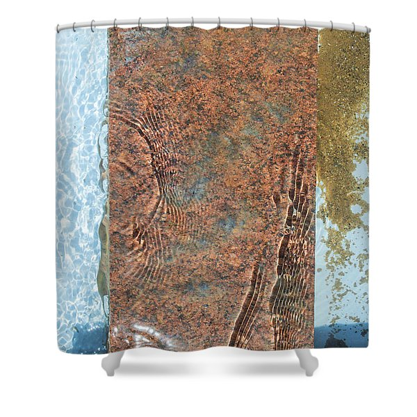 Brook Stone Shower Curtain