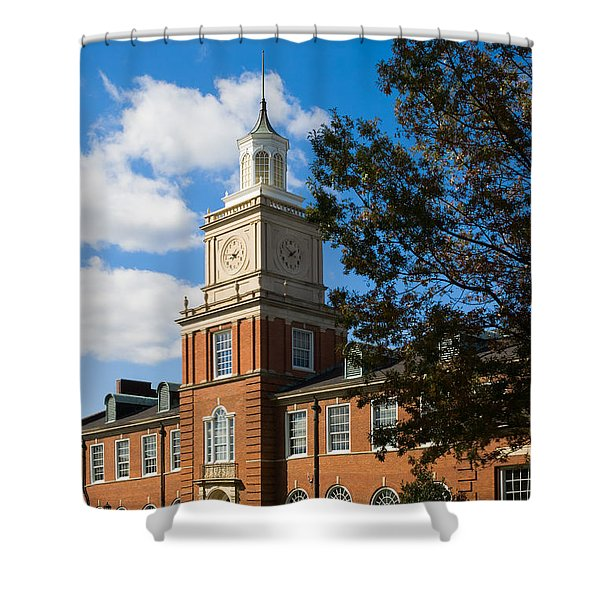 Browning Building At  A P S U Shower Curtain
