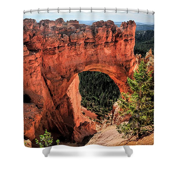 Bryce Canyon Arches Shower Curtain