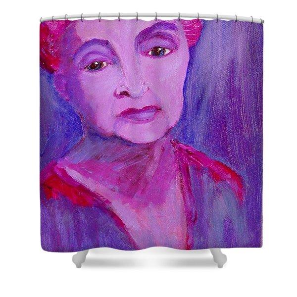 Bubbe Hinda Shower Curtain