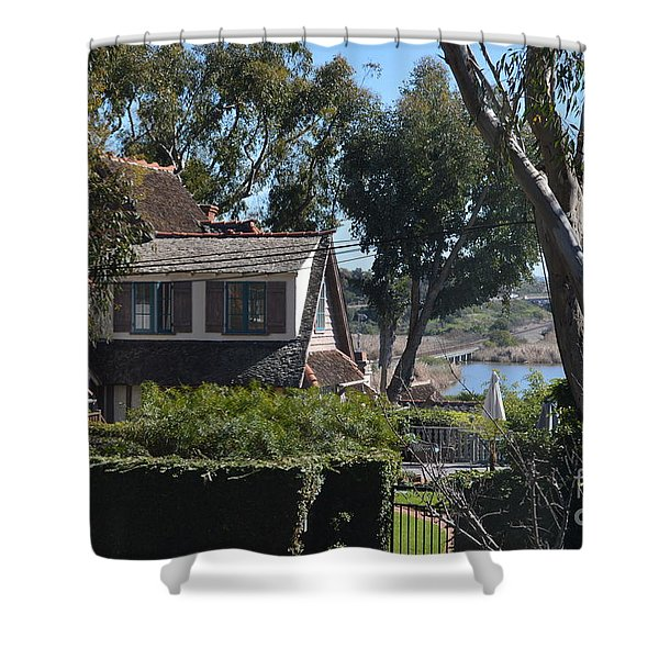 Shower Curtain featuring the photograph Buena Vista Lagoon by Laurie Lundquist