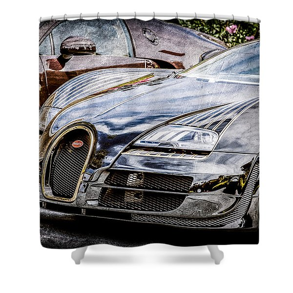 Bugatti Legend - Veyron Special Edition -0845ac Shower Curtain