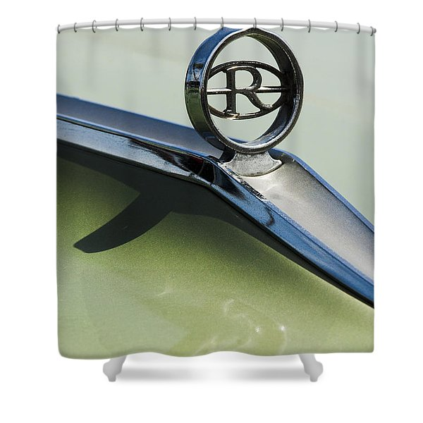 Buick Riviera Hood Ornament Shower Curtain