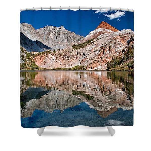 Bull Lake And Chocolate Peak Shower Curtain