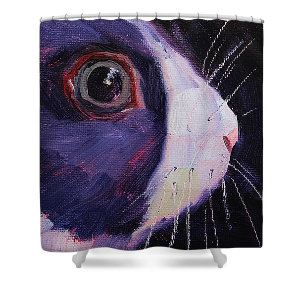 Bunny Thoughts Shower Curtain