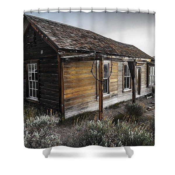 Burkham House Shower Curtain
