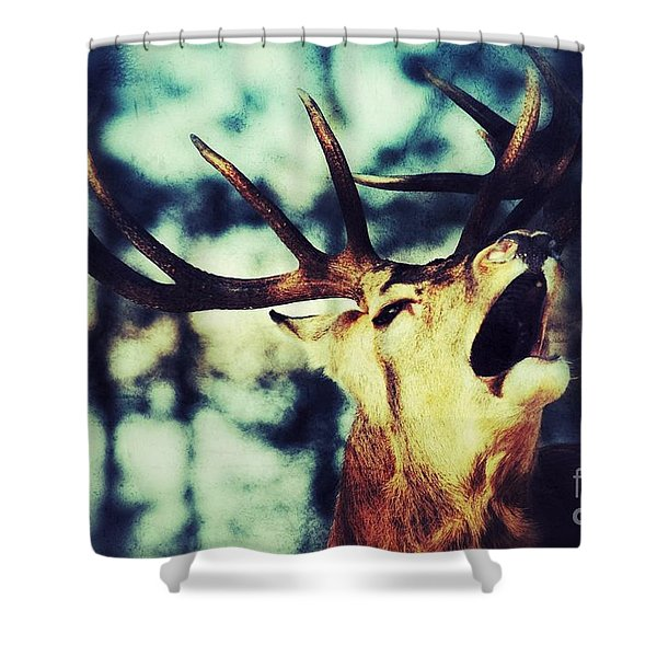 Burling Deer Shower Curtain