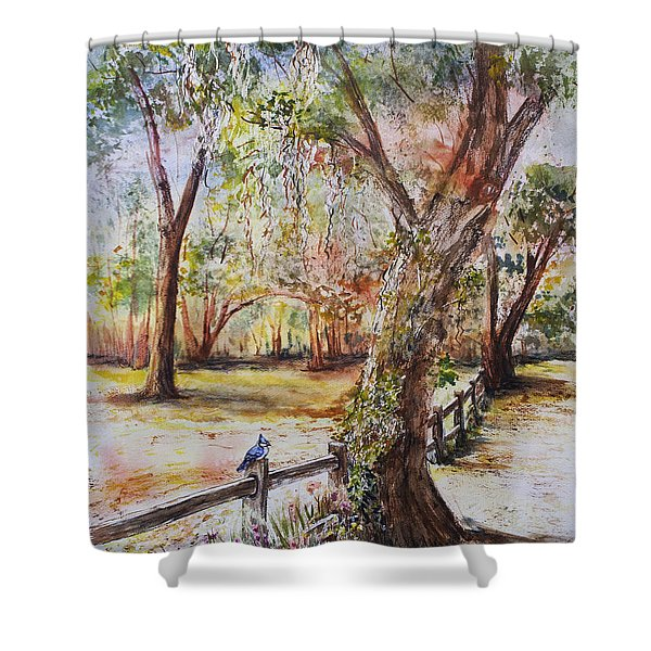 Bushnell Morning Shower Curtain