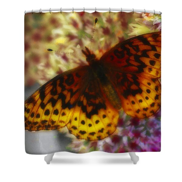 Butterfly 5 Shower Curtain