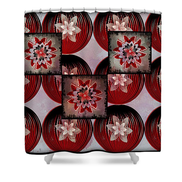 Butterfly Bloomer Shower Curtain