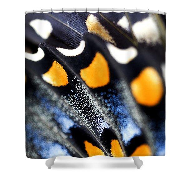 Butterfly Wings Shower Curtain