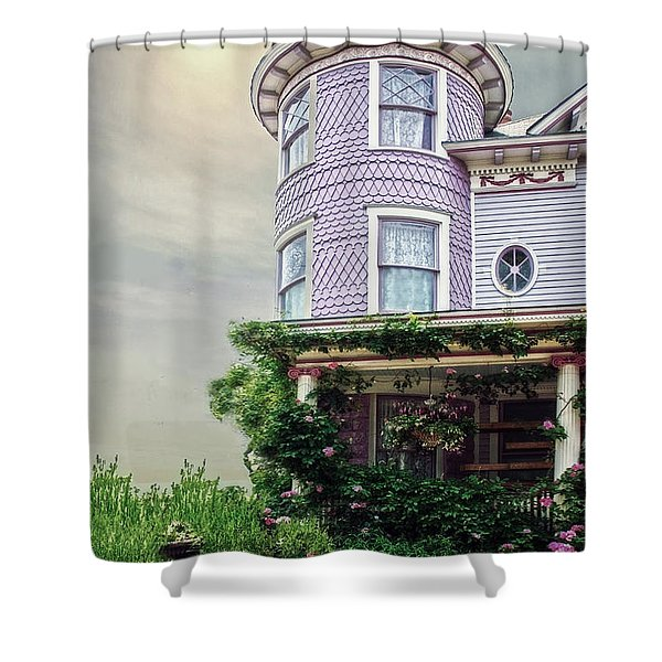 By The Seaside Shower Curtain