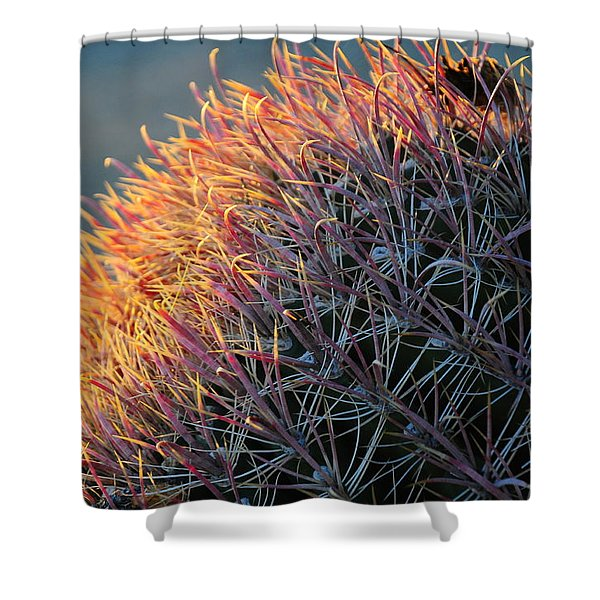 Cactus Rose Shower Curtain