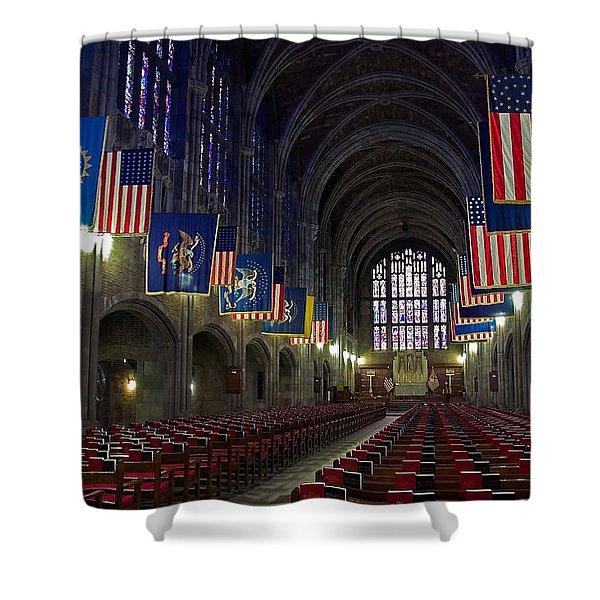 Cadet Chapel At West Point Shower Curtain