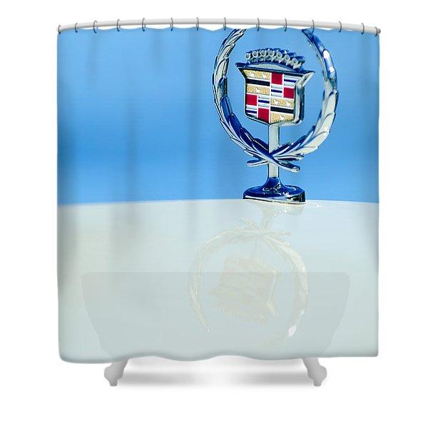 Cadillac Hood Ornament 4 Shower Curtain