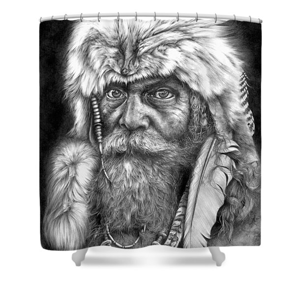 Caesar Of The Wilderness Shower Curtain