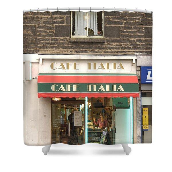 Cafe Italia Shower Curtain