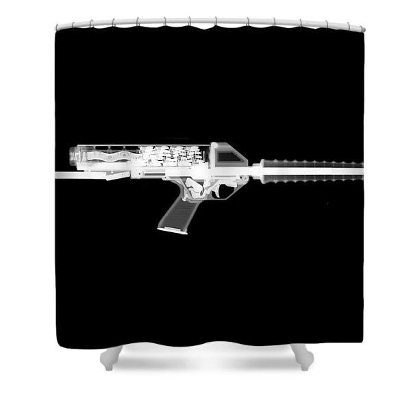 Calico M100 Reversed Shower Curtain