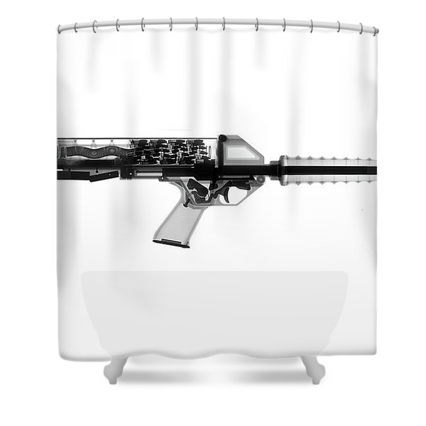 Calico M100 X-ray Photograph Shower Curtain